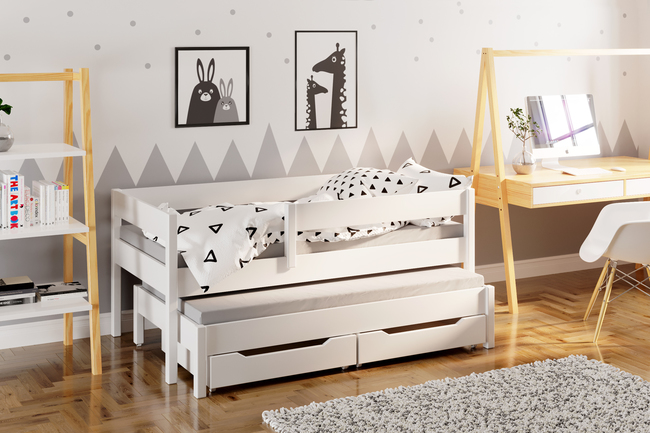 Kinderbett Weiß