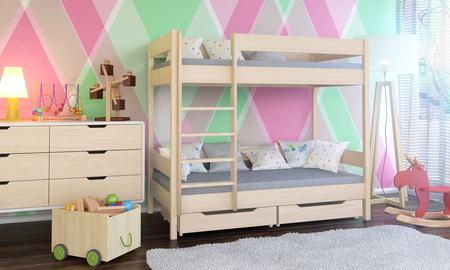 Łóżko piętrowe dla dzieci Dino 6