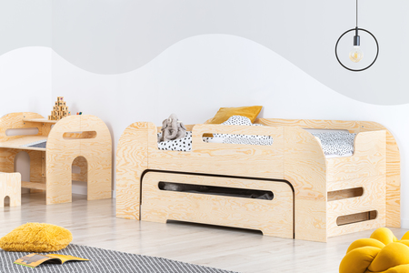 skandinavisches Bett