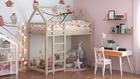 Massivholzbetten, skandinavische Betten, Kinderbett, Einzelbett, Öko-Betten, Betten im skandinavischen Stil, Einzelbett, Kinderbett, Bett für Kinder, Hochbett für Kinder, Hausbett, Hochbett in Hausform