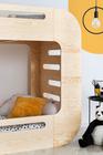 Betten aus Sperrholz, skandinavische Betten, Bett für Kinder, Etagenbett, ökologisches Bett, Öko-Betten, Sperrholzmöbel, Betten im skandinavischen Stil