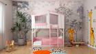 Etagenbett CODY 1 für Kinderzimmer. Hergestellt aus hochwertigem massivem Kiefernholz.